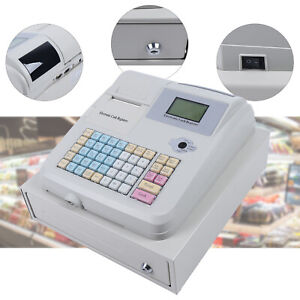 Electronic Pos Cash Register Led Display W Drawer Case For Restaurant Retail Us