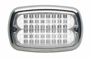 Whelen M6r c Linear Super led Light Head Red With Clear Lens