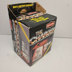 Vintage Car Orange Ray O Vac 10 Amp Automatic Battery Charger