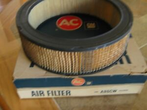 Gm Ac Delco Air Cleaner Air Filter A86cw Square Mesh 6420690 Vintage