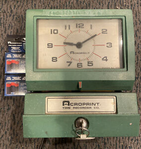 Acroprint 150nr4 Time Recorder