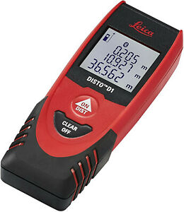 Leica Disto D1 New 120ft Laser Distance Measure With Bluetooth 4 0 Black red