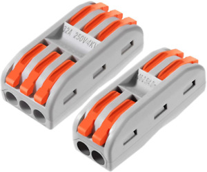 Push in Terminal Block Wire Connector 1set 20 Pcs New