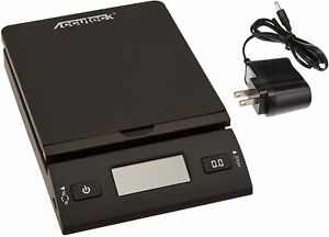 Accuteck 50 Lb All in one Black Digital Shipping Postal Scale With Adapter