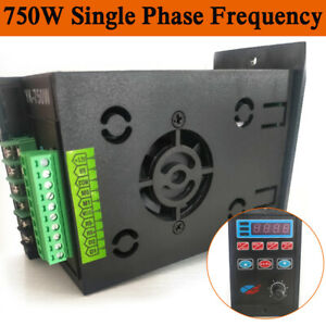 Single Phase Input Three Phase Output Frequency Converter Inverter 750w Us Hot