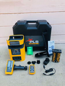 Pls Hv2g Manual Slope Green Rotary Laser Pacific Lasers Systems