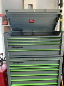 Snap On Tool Chest And Snap On Automotive Air Cordless And Metric Hand Tools