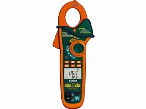 Extech Ex613 Clamp Meter 400a With Dual Type K Inputs And Ir Thermometer