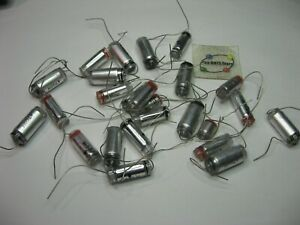 Assorted Polystyrene Capacitor Lot Axial Grab bag Nos Qty 25