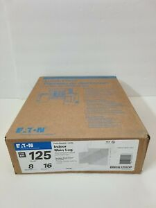 New Eaton Br816l125sdp Indoor Main Lug 125 a 16 circuits 8 spaces