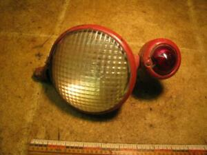 Guide Rear Work Light With Bullet Taillight International Farmall Tractor