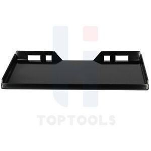 Mount Plate Skid Steer Compatible For Tractor Loader Plate Quick Connector