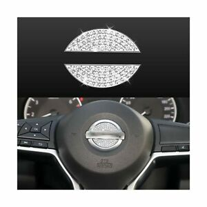 Bling Car Steering Wheel Decorative Diamond Crystal Decal Decoration Cover St