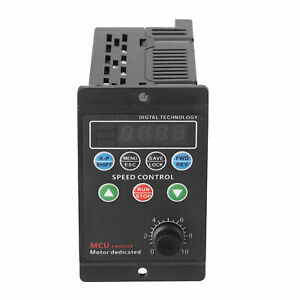 220v Single Phase 3 phase Variable Frequency Drive Converter Motor 750w Svpwm