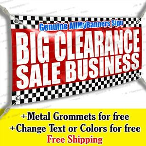 Big Clearance Sale Business Vinyl Banner Advertising Sign