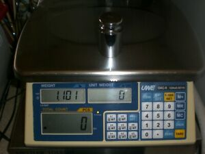 Uwe Oac 6 Industrial Counting Scale 12lb X 0 001lb Capacity