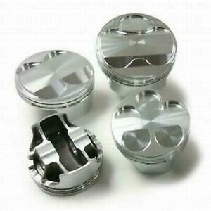 Srp 142032 Pistons Forged Dome 4 165 Grooves Set Of 8 For Chevy Small Block New