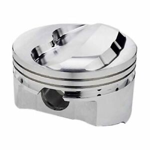 Srp 140675 Pistons Forged Dome 4 040 Grooves Set Of 8 For Chevy Small Block New