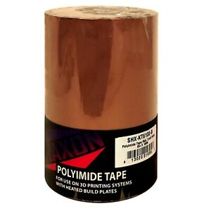 Yellow Polyimide Tape Roll 100 Length 6 Width 4 Mil Thick