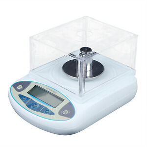 Analytical Balance Lcd Lab Digital Electronic Precision Scale 500x0 001g 1mg
