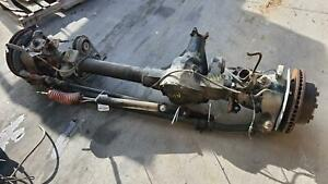 05 07 Ford F250sd F350sd Front Axle Assy Harley Davidson Package W 3 73 Gears