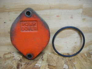 Original Gasboy Pump Cover Plate With O ring Model 1820 Gas Fuel Pump S