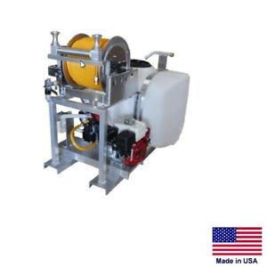 Sprayer Commercial Skid Mounted 5 5 Hp 9 5 Gpm 580 Psi 100 Gallon