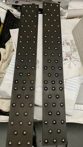 Ball Bearing Plates 2 1 2 X 18 X 1 4 Thick Steel With 3 8 Roller Balls