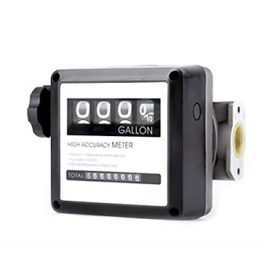 Tuntrol 1 Aluminum Mechanical Fuel Flow Meter 7 20 Gpm For All Fuel Transfer