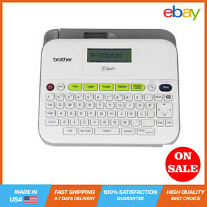Brother P touch Pt d400ad Versatile Easy to use Label Maker Thermal Transfer N