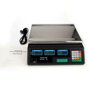 88 Lb 40kg Digital Postal Scale Computing Produce Food Electronic Counting Weigh