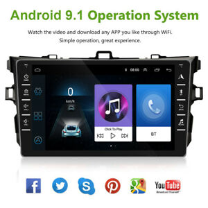 Fit For Toyota Corolla 2006 2012 8 Android 9 1 Car Stereo Radio Fm Player 1 16g
