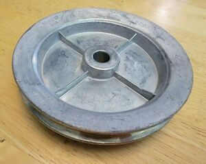 Chicago Die Casting 5 Single V Groove 5 8 Pulley 500a