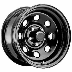 Pro Comp Wheels Series 97 15x8 With 5 On 4 5 Bolt Pattern Gloss Black 97 5865