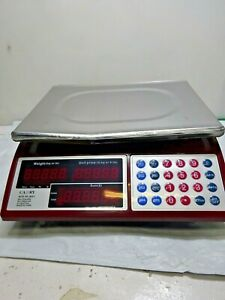 Read Ad Camry Digital Commercial Price Scale 66lb 30kg Food Meat Fruit Produce