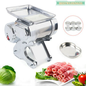 Commercial Electric Meat Slicer Meat Cutter Cutting Machine 550w Fast Shipping