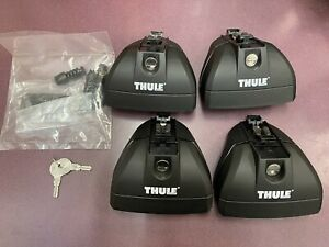 Thule 460r Rapid Podium Foot Pack Includes Thule 544 One Key System Lock