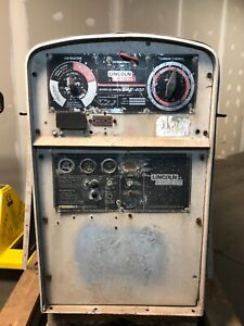 2001 Lincoln Sae 400 Welder With Perkins Diesel parts Machine free Shipping