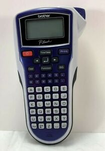 Brother P touch Purple Label Maker Thermal Printer Model Pt 1010