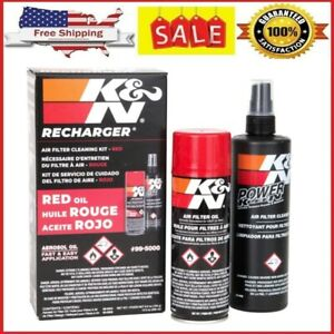 Hot Sale K N Engine Air Filter Cleaning Kit Aerosol Filter Cleaner And Oil Kit
