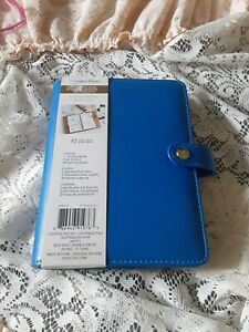 Recollections Creative Year A5 Planner Cerulean Blue 6 Ring Binder 35 Pieces New