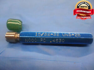 15 32 32 Uns 2b Thread Plug Gage 46875 No Go Only P d 4530 Groove Check