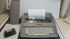 Brother Sx 4000 Electronic Typewriter W Keyboard Cover directions 2 Inks Nice
