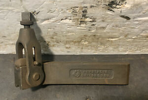 Armstrong No 17 Reversible Boring Bar Tool Holder Lathe Machinist 9 16 Thick