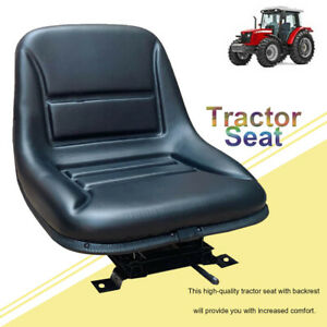 Universal Tractor Seat Back Suspension Seat Durable Thickly padded Forklift Seat