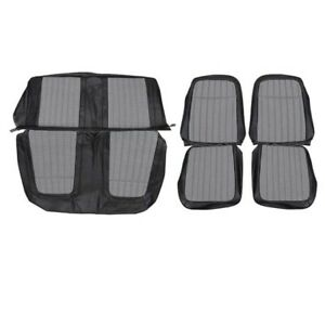Seat Upholstery Kit Houndstooth 1969 Camaro Coupe