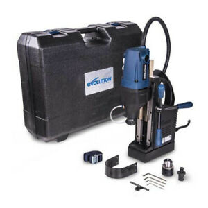 Evolution S28mag 1 1 8 Inch Magnetic Drill With Carry Case