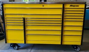 Snap On Krl 1023cpd04 Roll Cabinet Tool Box W Stainless Steel Power Top