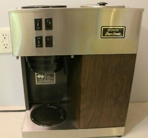 Bunn Vpr Pourover Coffee Maker 12 cup Brewer Commercial Dp01