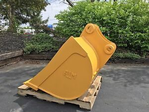 New 48 Caterpillar 313 Ditch Cleaning Bucket W Pins